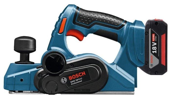 Электрорубанок BOSCH GHO 18 V-LI Professional 4.0Ач х2 L-BOXX