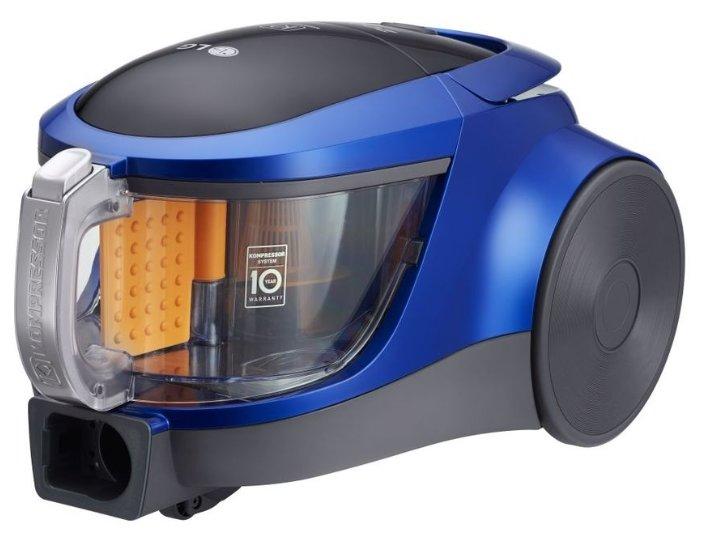 Пылесос LG VK76A09NTCB без мешка сухая уборка 2000Вт голубой металлик