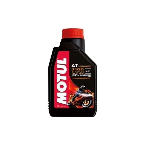 Моторное масло Motul 7100 4T 10W30 1 л motul outboard tech 4t 10w30 2л