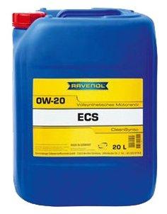 Моторное масло Ravenol Eco Synth ECS SAE 0W-20 20 л