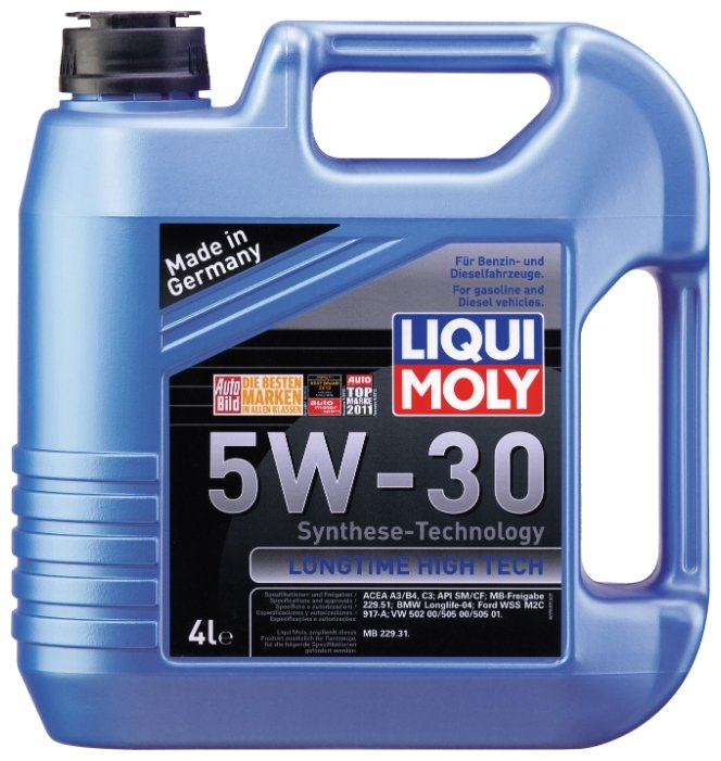 Моторное масло LIQUI MOLY Longtime High Tech 5W-30 4 л