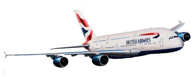 Сборная модель Revell Airbus A380 British Airways (06599) 1:288