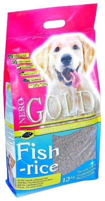 Корм для собак Nero Gold Adult Fish & Rice
