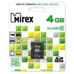 Карта памяти Mirex SDHC Class 10