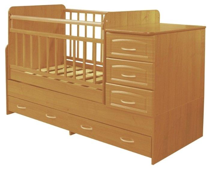 Кроватка Антел Ульяна-У (трансформер)