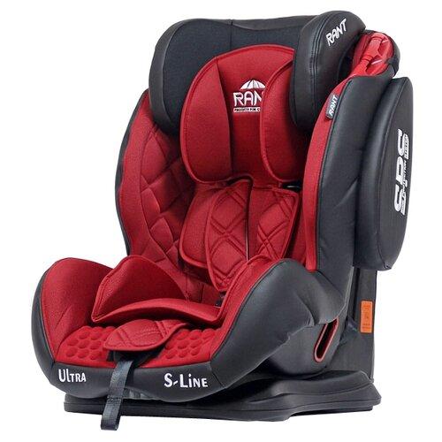 Автокресло группа 1/2/3 (9-36 кг) RANT Ultra SPS, red автокресло группа 1 2 3 9 36 кг little car ally с перфорацией черный