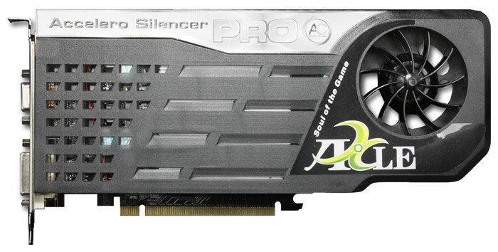 Axle GeForce 9400 GT 550Mhz PCI-E 2.0 512Mb 800Mhz 64 bit DVI TV HDCP YPrPb Cool