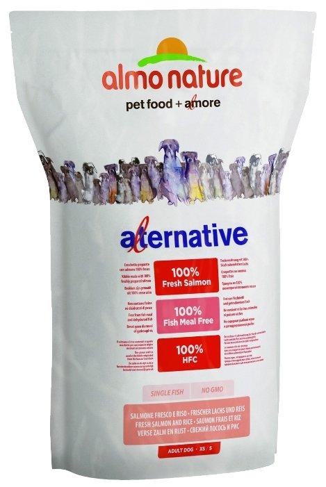 Корм для собак Almo Nature Alternative Fresh Salmon and Rice XS-S