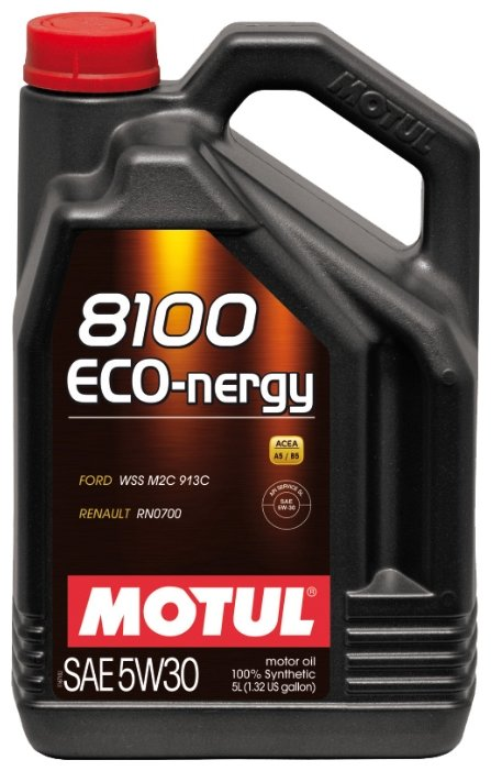 Моторное масло Motul 8100 Eco-nergy 5W30 5 л