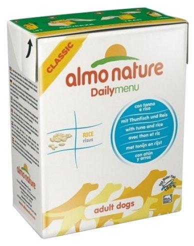 Корм для собак Almo Nature Daily Menu тунец с рисом 375г