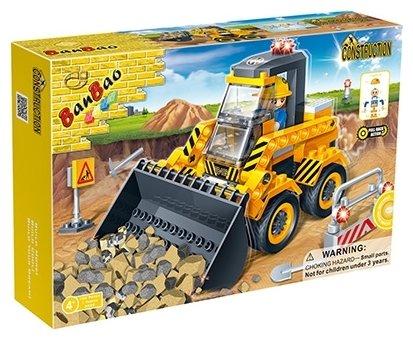 Классический конструктор BanBao Строительство 8539 Маленький погрузчик
