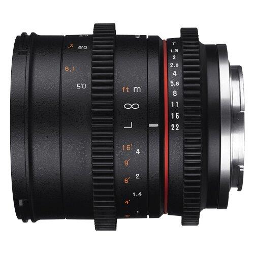 Фото - Объектив Samyang 50mm T1.3 AS UMC CS Fujifilm X объектив samyang 85mm f 1 8 ed umc cs fujifilm x