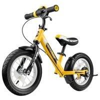 Детский беговел Беговел с ревом мотора, светодиодами и надувными колесами Small Rider Roadster 2 AIR Plus NB (зеленый)