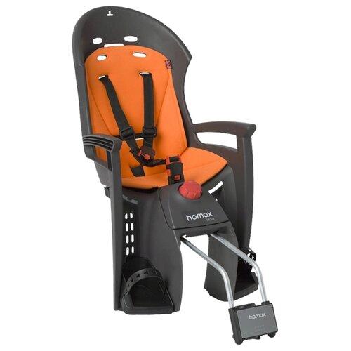 Заднее велокресло Hamax Siesta, серый/оранжевый