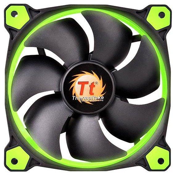 Thermaltake Система охлаждения для корпуса Thermaltake Riing 12 LED Green