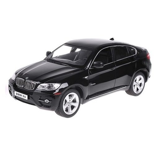 Купить Легковой автомобиль Rastar BMW X6 (31700) 1:24 20 см черный, Радиоуправляемые игрушки