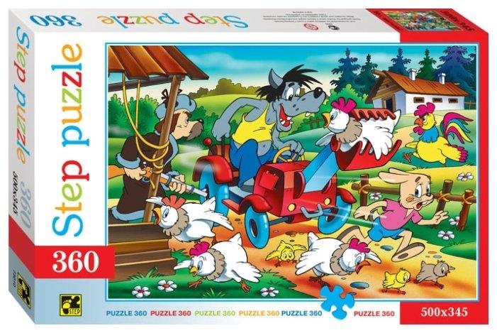 Пазл Step puzzle Союзмультфильм Ну, погоди! - 2 (73010), 360 дет.