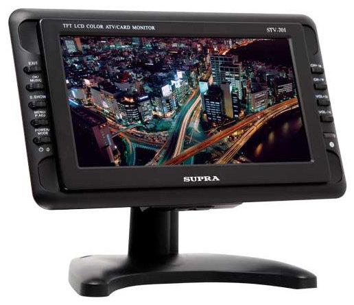 Автомобильный телевизор SUPRA STV-701