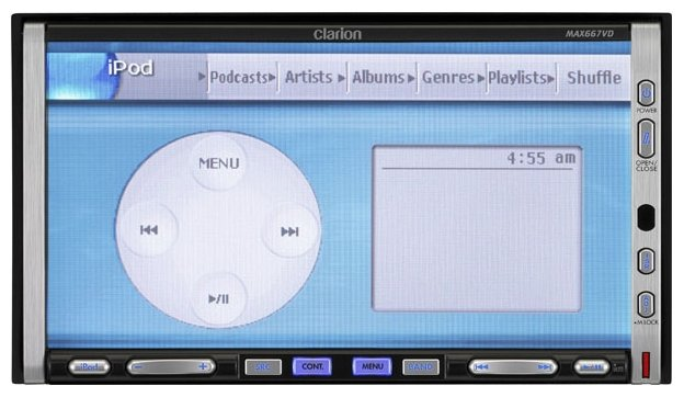 Автомагнитола Clarion MAX667VD