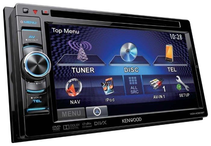 Автомагнитола KENWOOD DDX4023BT