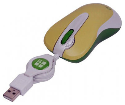 Мышь G-CUBE GOT-60A BROWN-LEO USB