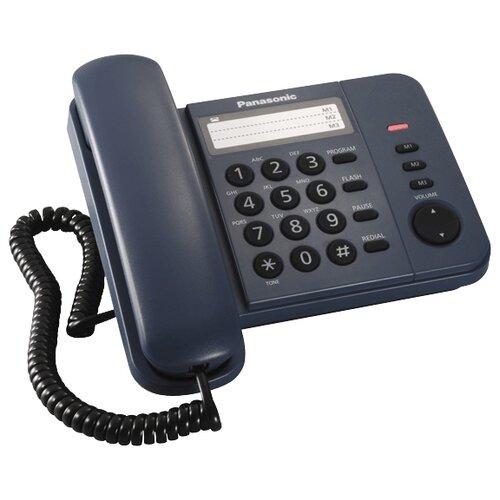 Телефон Panasonic KX-TS2352 синий