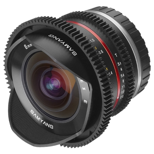 Объектив Samyang 8mm T3.1 V-DSLR UMC Fish-eye II Fujifilm X