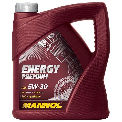 Моторное масло Mannol Energy Premium 5W-30 4 л моторное масло mannol energy formula pd 5w 40 1 л