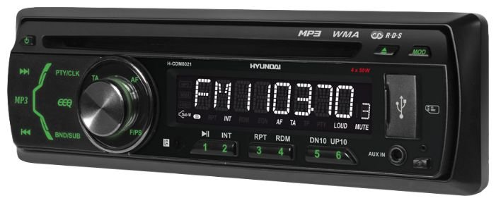 Автомагнитола Hyundai H-CDM8021