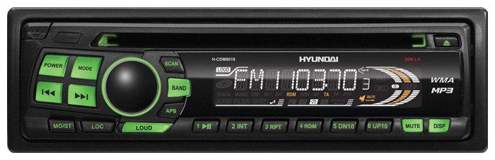 Автомагнитола Hyundai H-CDM8019 (2009)