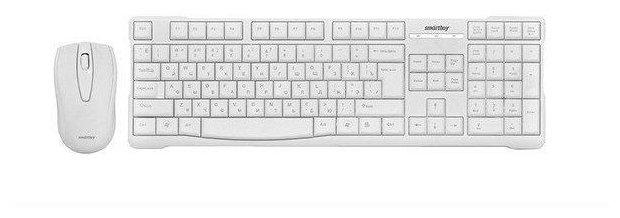 SmartBuy Клавиатура и мышь SmartBuy SBC-114348AG White USB
