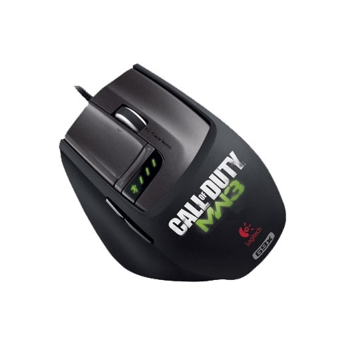 Мышь Logitech Laser Mouse G9X: Made for Call of Duty USB