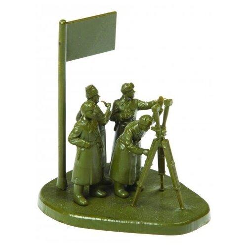 Фото - Сборная модель ZVEZDA Советский штаб в зимней форме (6231) 1:72 сборная модель zvezda немецкая пехота в зимней форме 1941 1945 6198 1 72