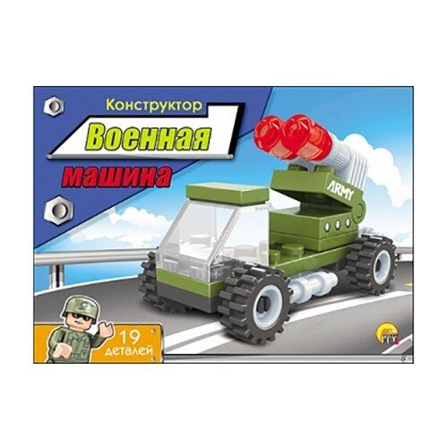 Купить Конструктор Рыжий кот Мастер К-1809 Военная машина, Конструкторы