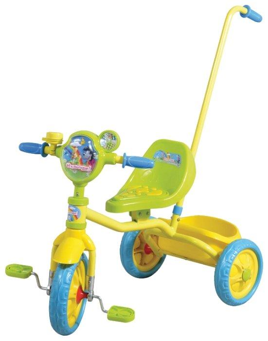 Трехколесный велосипед 1 TOY Т54030 Ну, погоди!