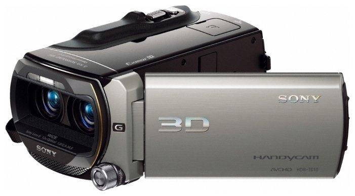 Сравнение с Sony HDR-TD10E