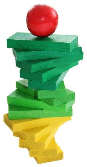 Кубики Краснокамская игрушка Эффект домино К-05