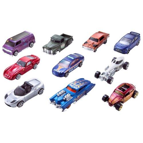 Купить Набор машин Hot Wheels 54886 1:64, Машинки и техника