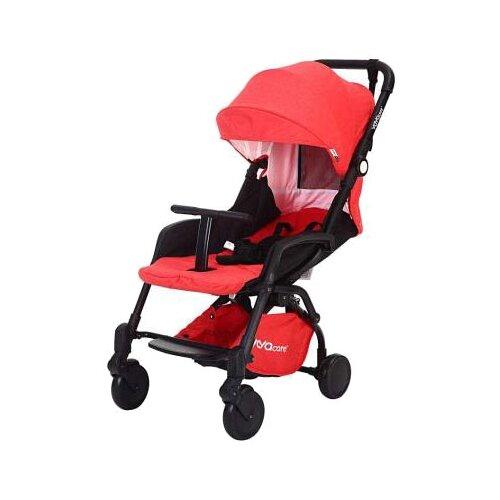 Купить Прогулочная коляска Yoya Care 2018 красный/черная рама, цвет шасси: черный, Коляски