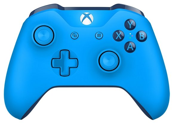 Microsoft Геймпад Microsoft Xbox One Wireless Controller Special Edition Blue
