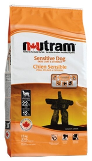 Корм для собак Nutram Sensitive Dog