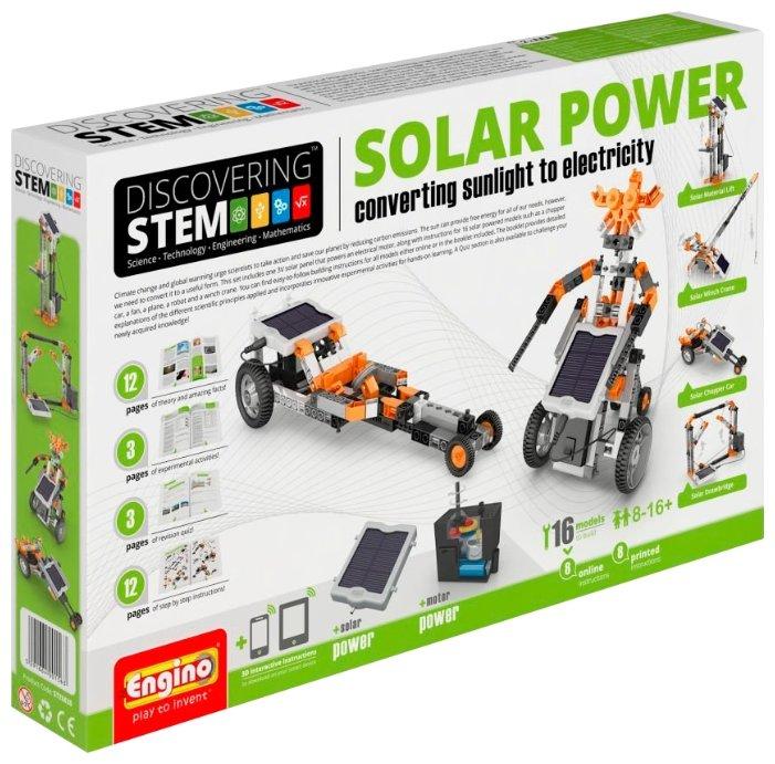 Конструктор Engino DISCOVERING STEM30 Солнечная энергия
