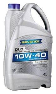 Моторное масло Ravenol DLO SAE 10W-40 4 л