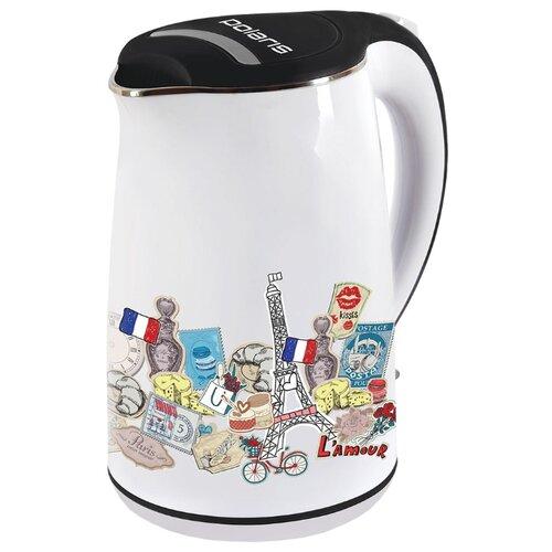 Чайник Polaris PWK 1742CWR Paris, белыйЭлектрочайники и термопоты<br>