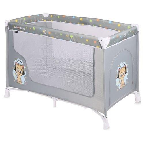 Купить Манеж-кровать Lorelli San Remo 1 grey cute kitten, Манежи