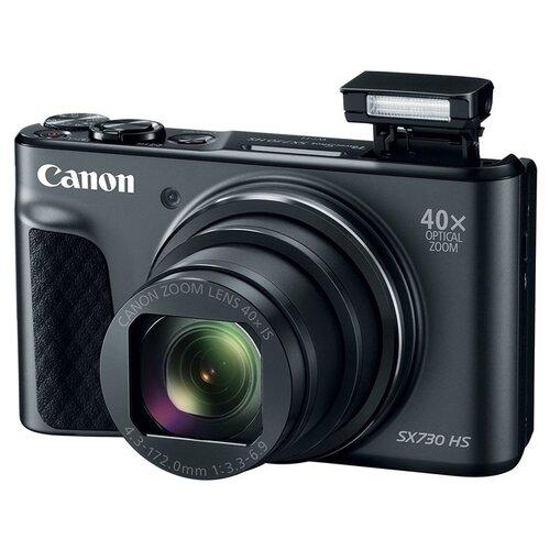 Фотоаппарат Canon PowerShot SX730 HS черныйФотоаппараты<br>