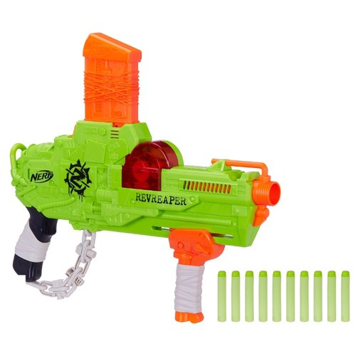 Бластер Nerf Зомби Страйк Реврипер (E0311) hasbro бластер nerf mega мегалодон
