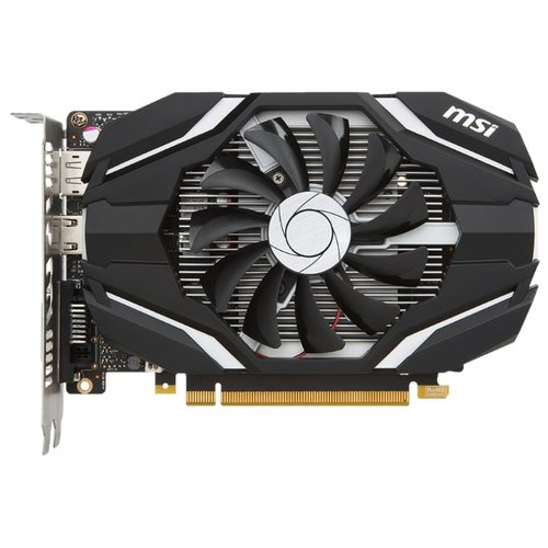 Видеокарта MSI GeForce GTX 1050 1354Mhz PCI-E 3.0 2048Mb 7008Mhz 128 bit DVI HDMI HDCP Retail