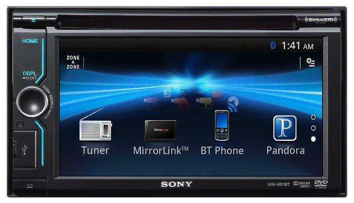 Автомагнитола Sony XAV-BT601