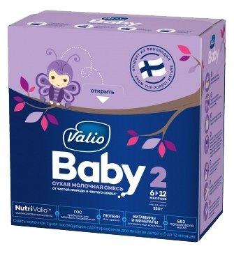 Смесь Valio Baby 2 (c 6 до 12 месяцев) 350 г